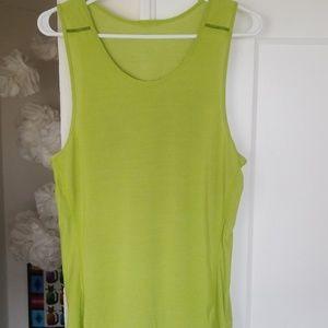 Lululemon Lime green tank top